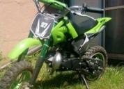 Excelente moto enduro infantil de 2 tiempos