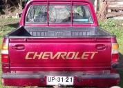 Venta de camioneta chevrolet luv 2001 diesel.