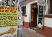 Cerrajeria lorenzo matta 530 la serena al llegar a cordovez 992652346