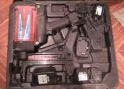 Pistola de clavos a gas