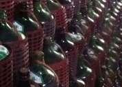 1500 garrafas de vidrio