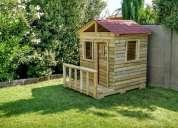 Hermosas casitas de muñecas  de maderas y casa club