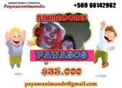 Payasos alegres animadores infantiles $35000