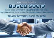 Busco inversionista chileno