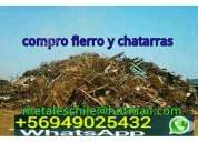 Compro fierro y chatarra en santiago cel 9-49025432