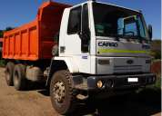 Camion tolva, ford cargo 2932, aÑo 2007