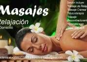 masaje de relajacion a domicilio