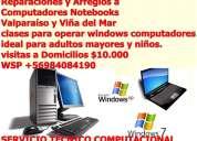 Servicio técnico reparaciones de computadores, notebooks,laptops,a domicilio