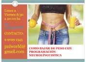 Terapia para bajar de peso con programaciÓn neurolinguistica