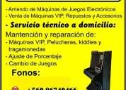 servicio tecnico a domicilio de maquinas tragamonedas