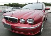 Jaguar 3.0 x-type full cuero con tv