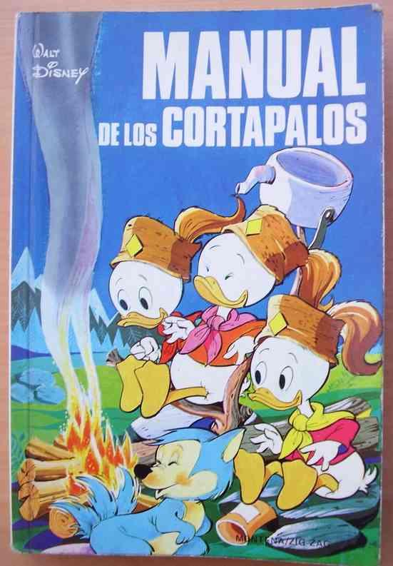 Disney Manual de Cortapalos 1 Color Español 180 pags Coleccion Vintage Completo