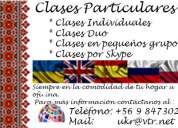 Clases particulares ingles, ruso, ucraniano