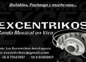 Grupo musical bailable excentrikos