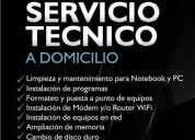 Instalación de sistemas operativos para computadores notebook desktop