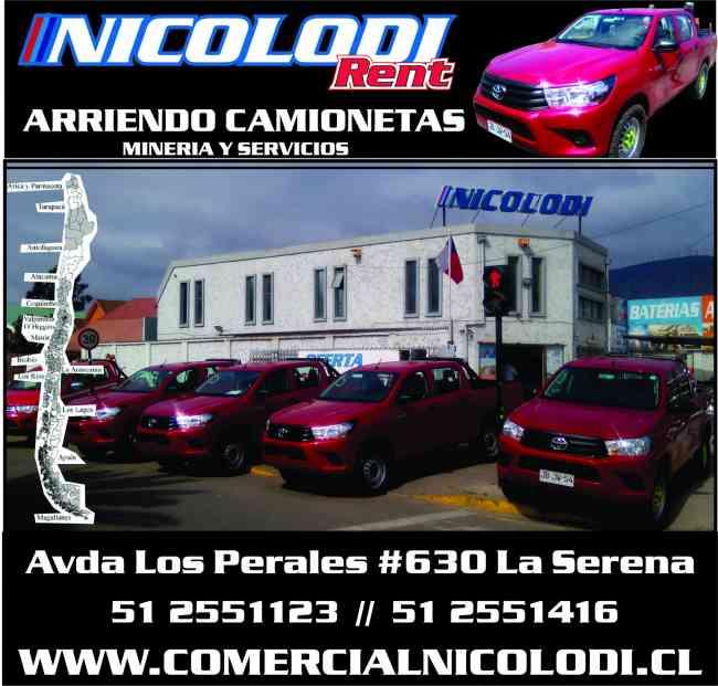 Arriendo camionetas equipadas todo Chile precio FLOTA!!!!