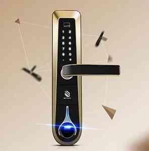 Casa de inteligente: Cerraduras de huella dactilar y Cerraduras electrónico, Cerraduras digital