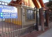 Fernandez escobar bienes raices arrienda casa 4 dormitorios los andes