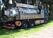 camion limpia fosas man tga 26.400 6x4 2012,contactarse.