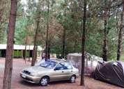 Hermoso camping cabañas, salto del laja