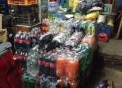 Se vende minimarket funcionando equipadísimo, contactarse.