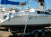 Vendo excelente yate hunter 260 año 2001.