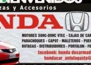Honda car repuestos.contactarse.
