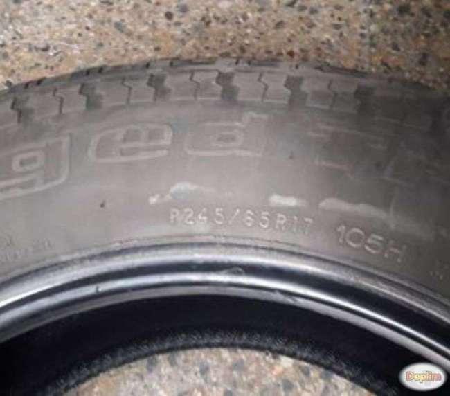 4 Neumáticos Goodrich usados