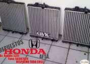 Venta de radiador honda civic 1994