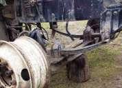 Eje delantero feightliner fld 112 año 2002