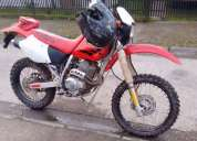 Vendo honda xr 250 2002