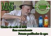 Mms potente purificador de agua ,autorizado oficial de jim humble en chile.