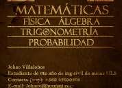 Clases particulares psu, fisica, calculo, algebra, trigonometria en la serena