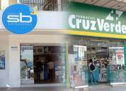 Traspaso derechos farmacias y drugstores de marcas propias y franquicias