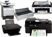 mantenimiento y reparacion de impresoras
