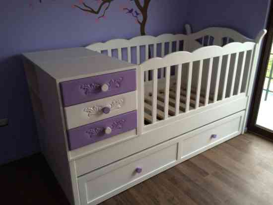 cunas para bebes en santiago, cómodas, muebles de bebe, a pedido