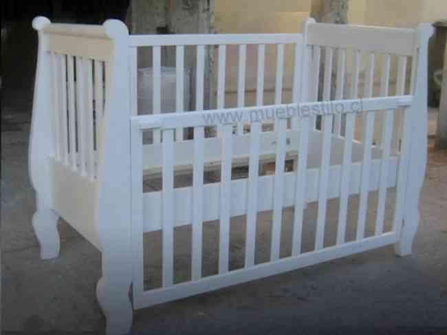 Cunas para bebes en santiago, cómodas, muebles de bebe, a pedido ...