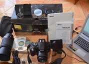 Venta cámara nikon d5100 + accesorios