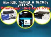 Compro cartridges tintas y toner nuevos, celu/whatsapp 965426776