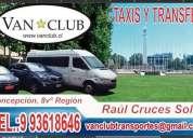 Minibus con chofer y taxis en concepcion