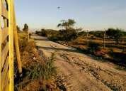 Terrenos con agua y pronta urbanizacion