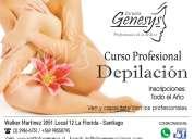 Cursos de depilacion - instituto genesys - la florida