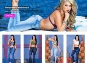 Jeans colombianos importados con despacho a todo chile