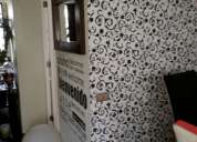 Maestro en instalacion papel mural terminaciones