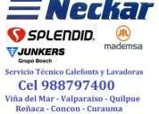Gasfiter calefont técnico inacap lavadoras c 988797400 viña d y valparaíso