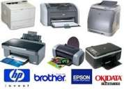 Impresoras hp, canon, lexmark, brother, epson