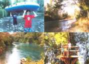 Casa año corrido villarrica - amoblada - orilla de rio