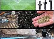Reparación y construcción de sistema de riego automático