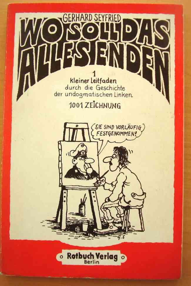 Wo soll das alles enden Taschenbuch - 1978 - Comics en Aleman