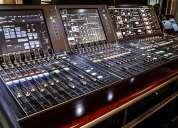 Digitales mezcladores behringer yamaha soundcraft midas allen y heath y otros